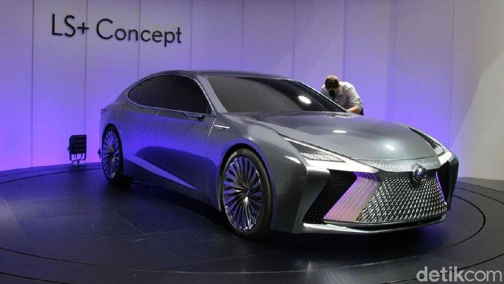 Mobil yang Bisa Jalan Sendiri dari Lexus