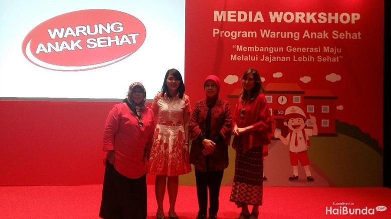 Media Workshop Warung Anak Sehat/ Foto: Asri Ediyati