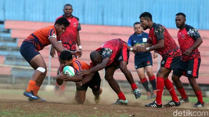 Kalahkan Papua, Tim DKI Jakarta Juara Kejurnas Rugby