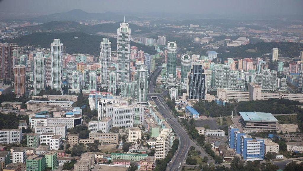 Mau Lihat Korea Utara dari Ketinggian? Bisa Lho!