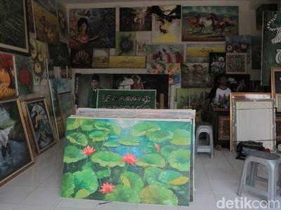 Weekend Ini, Lihat-lihat Kampung Lukis Jelekong Bandung Yuk!