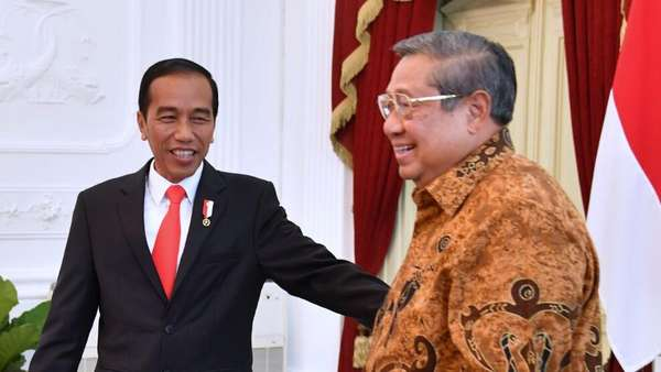 SBY Sampaikan Dukungan PD ke Pemerintah soal UU Ormas ke Jokowi