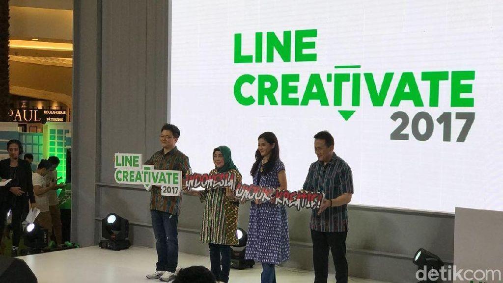 Ini Kreator Anak Negeri Jawara Line Creativate 2017