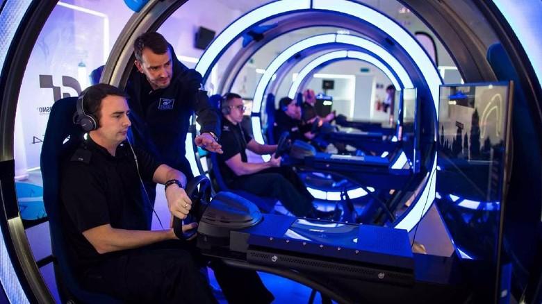 Game Playstation Jadi Tempat Latihan Mengemudi untuk Polisi