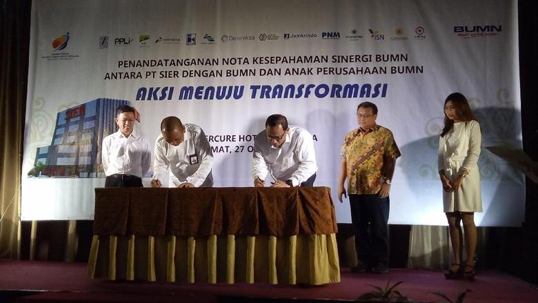 PT SIER Gandeng BUMN Untuk - Surabaya Pertumbuhan ekonomi di Jawa Timur berada di atas pertumbuhan ekonomi Hal ini membuat PT Surabaya Industrial Estate
