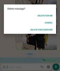 WhatsApp Kini Bisa Hapus Pesan yang Sudah Terkirim