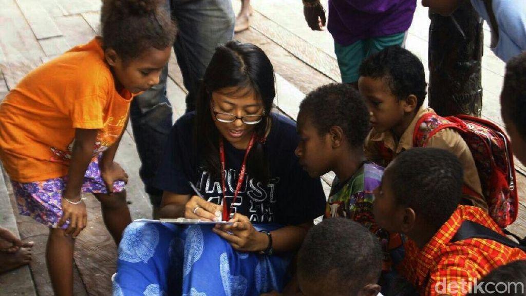 Miris, Banyak Siswa SMA di Mindiptana Papua Belum Bisa Baca Tulis