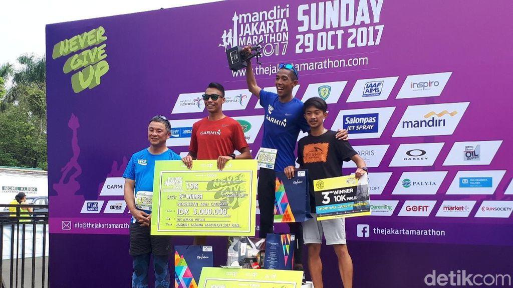 Jakarta Marathon Jadi Ajang Latihan Agus Prayogo menuju Asian Games