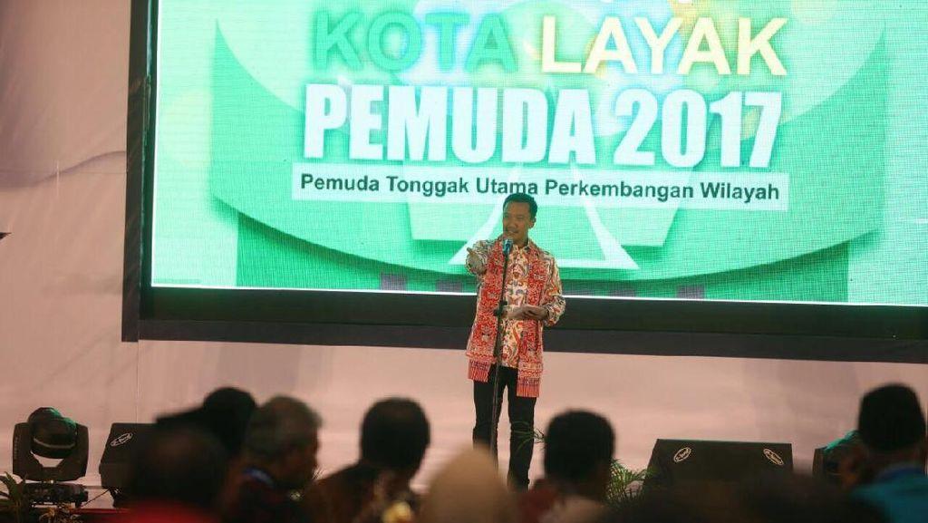 Ini 10 Kabupaten dan Kota Layak Pemuda