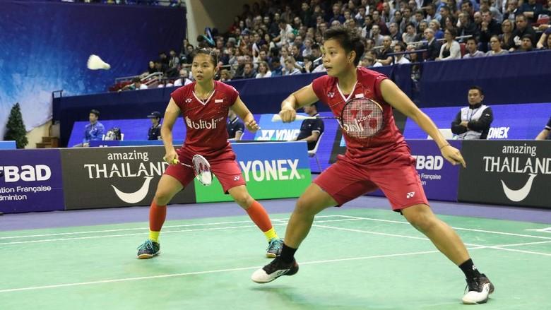 Greysia/Apriyani Juara Usai Kalahkan Ganda Korea