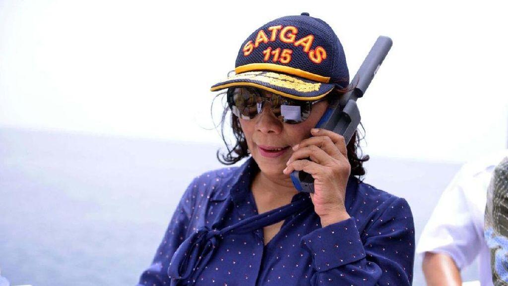 Foto: Saksi Bisu Menteri Susi Menenggelamkan Kapal
