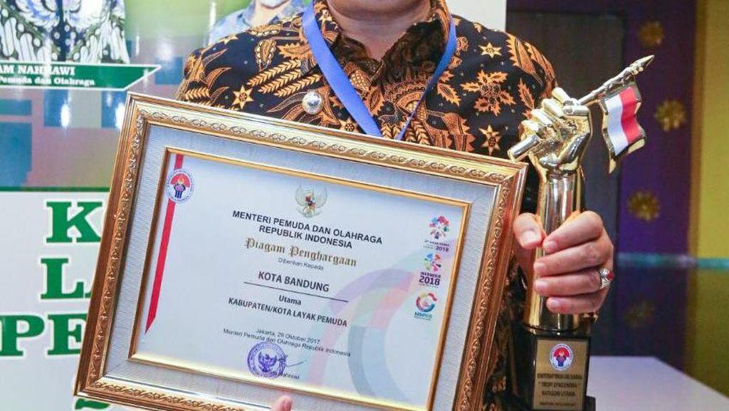 Bandung Raih Penghargaan Kota Layak Pemuda