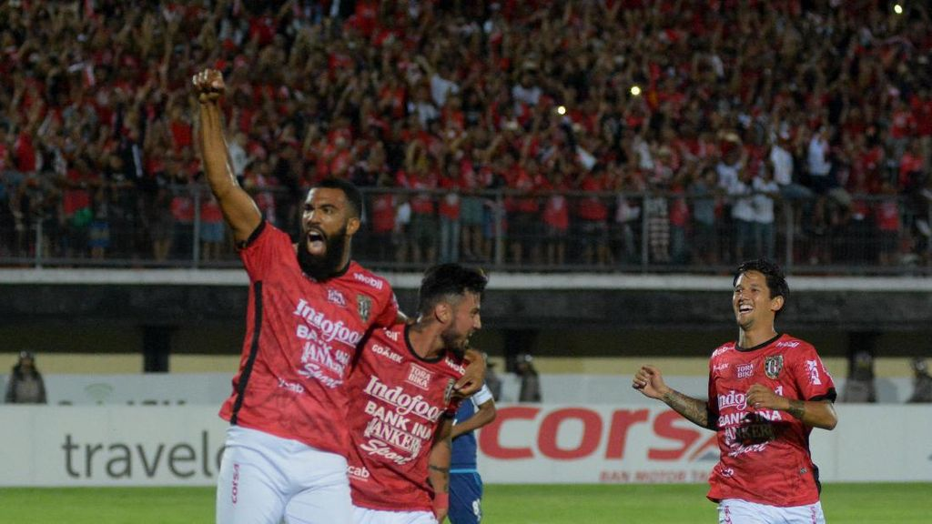 Kalahkan Sriwijaya, Bali United Puncaki Klasemen