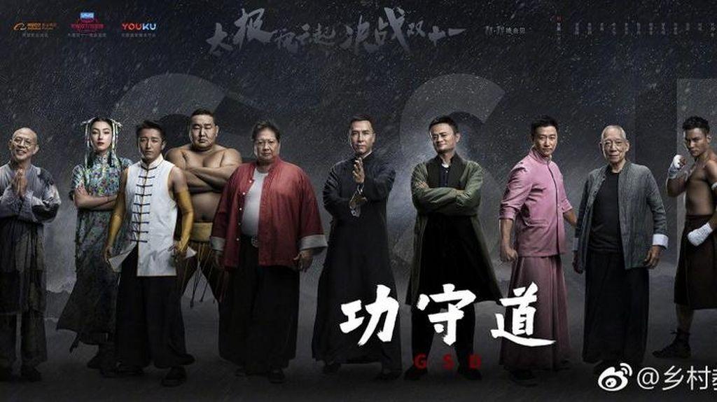 Jack Ma Main Film Bareng Donnie Yen dan Jet Li