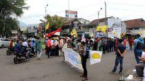 BEM Garut Tuntut Polisi Bebaskan Tersangka Demo Depan Istana
