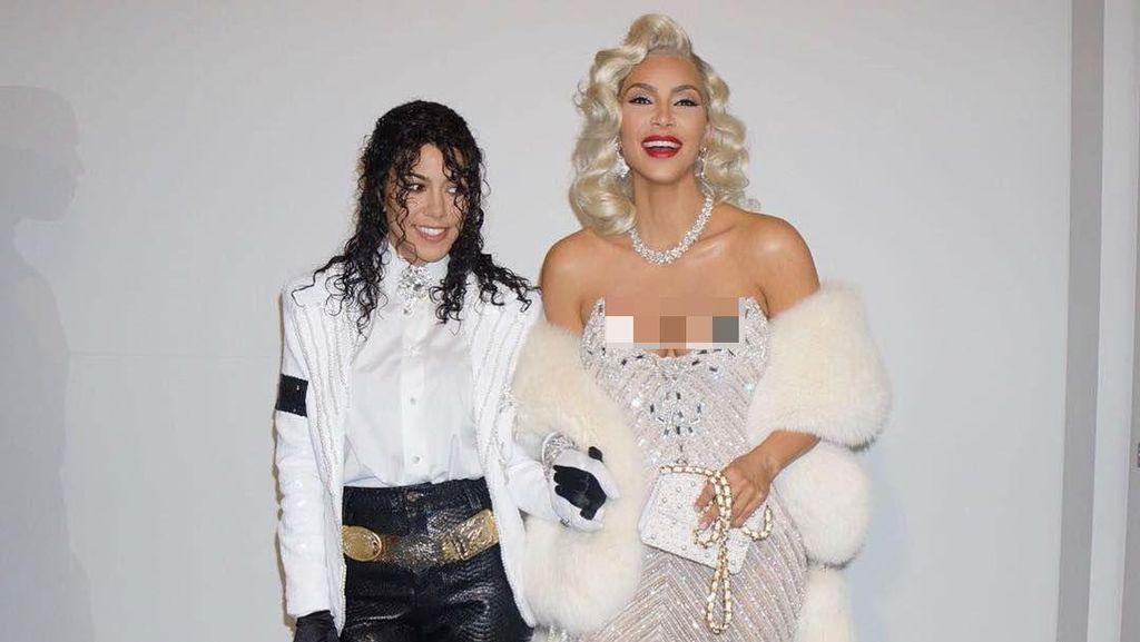 Saat Kim Kardashian Bertransformasi Jadi Aaliyah dan Madonna dalam 1 Hari