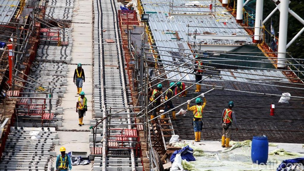 Konstruksi MRT Jakarta Capai 90% di Awal 2018