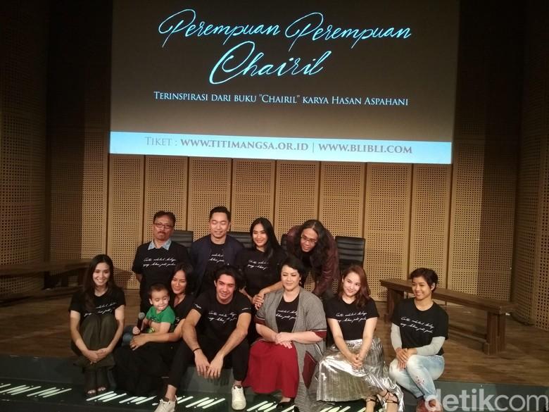 Tiket Teater Perempuan Perempuan Chairil Tinggal 100 Kursi Lagi
