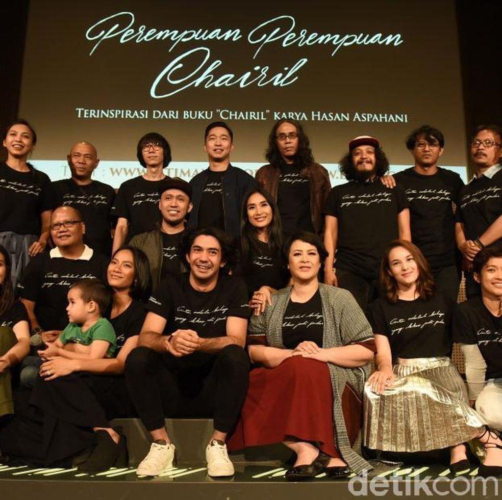 Ini Para Pemeran Teater Perempuan Perempuan Chairil