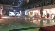 Foto Penampakan Plafon Maluku City Mall Berjatuhan karena Gempa