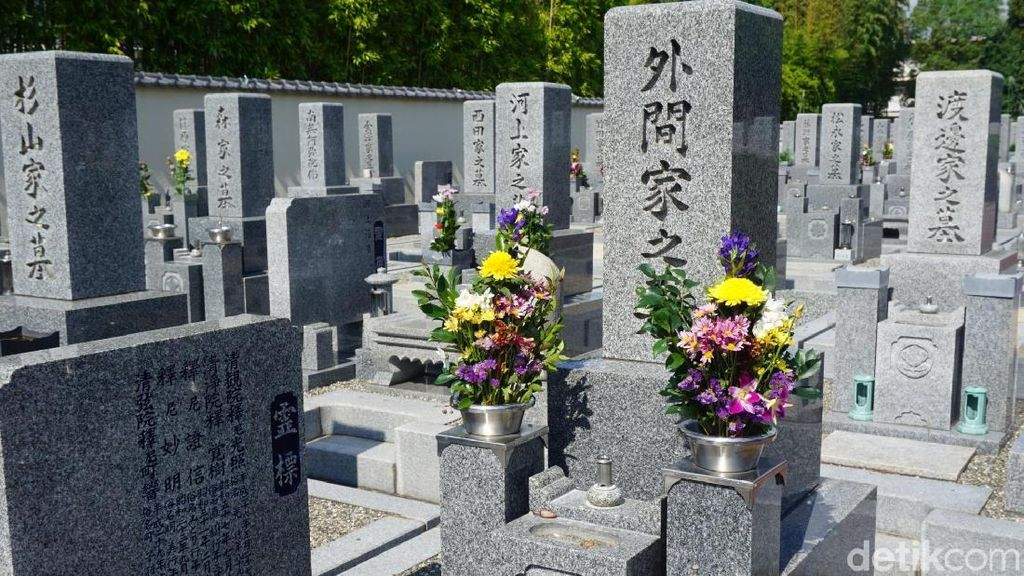 Foto: Kuburan Jepang yang Nggak Seram