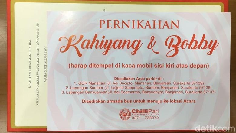 Ini Alasan Tamu Pernikahan Kahiyang - Solo Dinas Perhubungan Pemerintah Kota Surakarta mengimbau tamu pernikahan Kahiyang Ayu dan Bobby Nasution tidak menggunakan taksi Apa