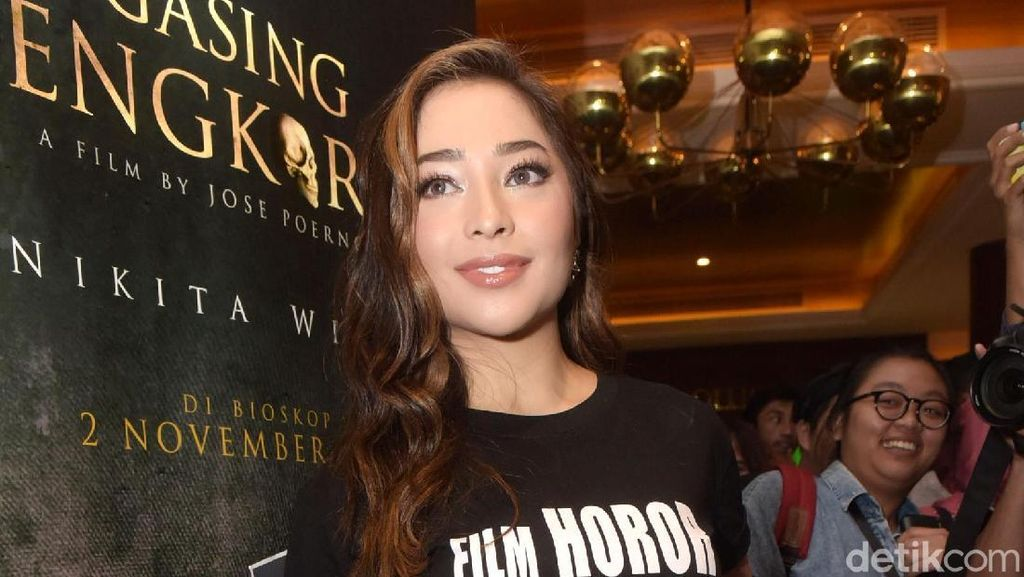 Nikita Willy Ketagihan Main Film Horor