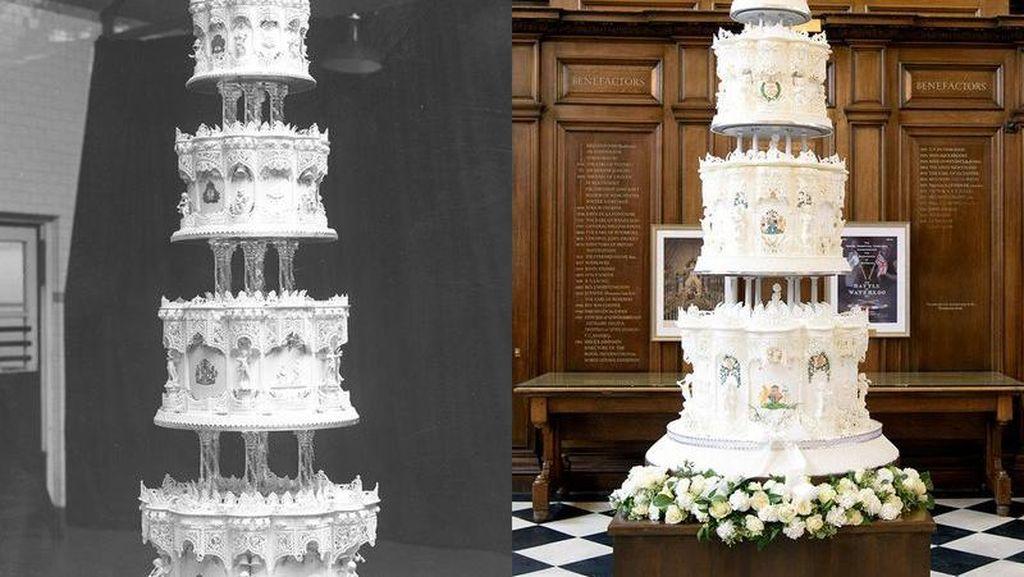 Di Ulang Tahun Pernikahan ke-70, Cake Pernikahan Ratu Elizabeth Dihadirkan Kembali