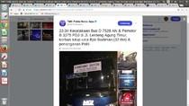 Kecelakaan Bus dengan Motor di Lenteng Agung, 1 Orang Tewas
