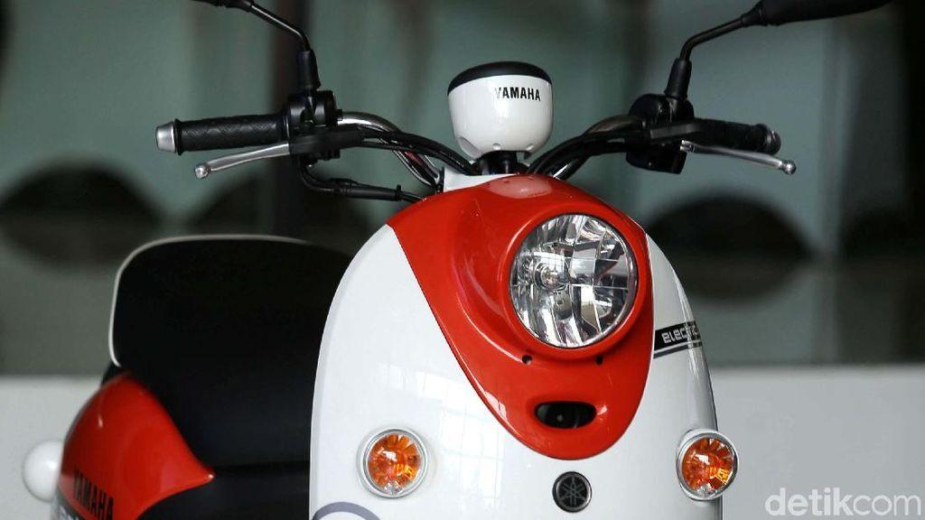 Motor Listrik Yamaha Belum Bisa Dibeli, Ini Alasannya