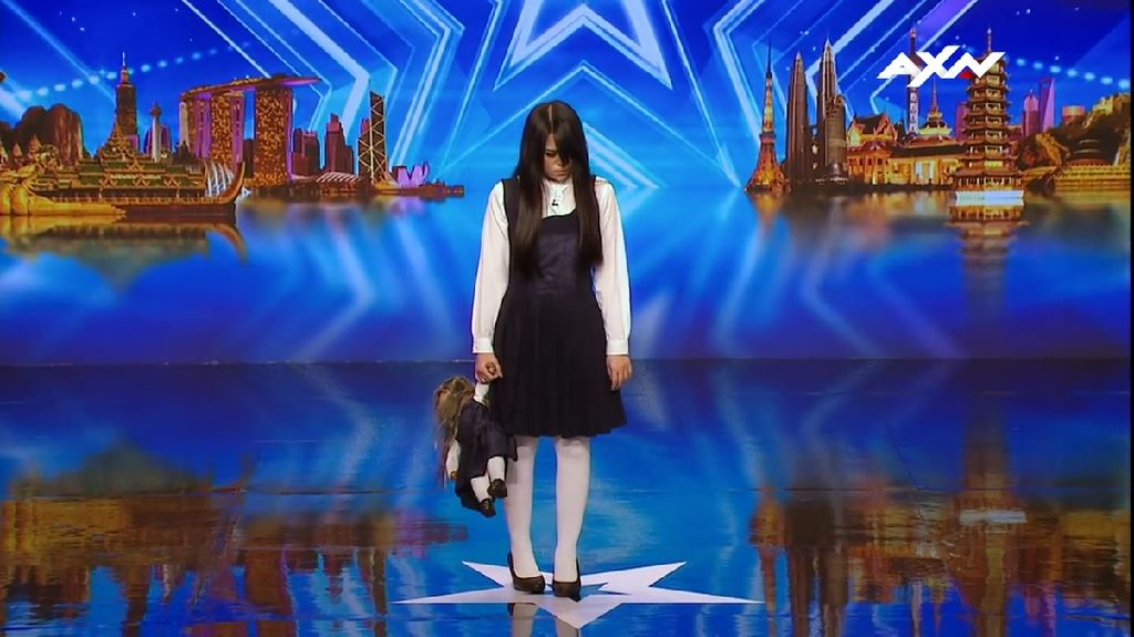 Top! The Sacred Riana Magician Asal Indonesia Menang Asias Got Talent 2017