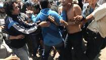 Demo Tolak Transportasi Online di Makassar Ricuh