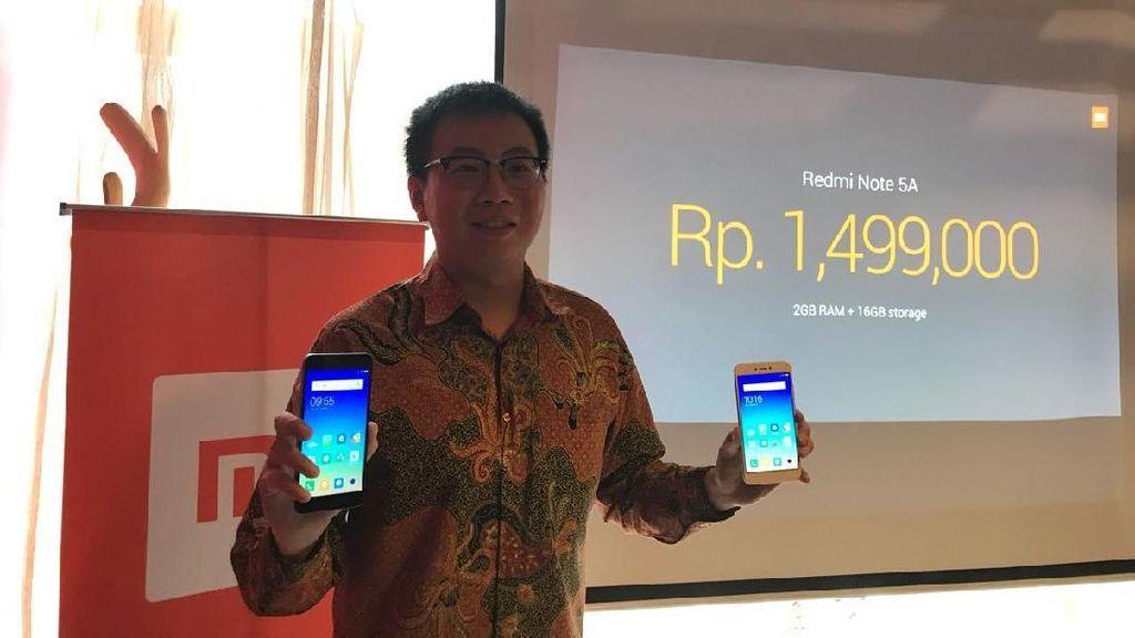 Redmi Note 5A Sambangi Indonesia, Harganya?