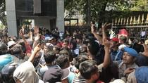 Usai Ditemui Kadishub Sulsel, Demo Tolak Transportasi Online Bubar
