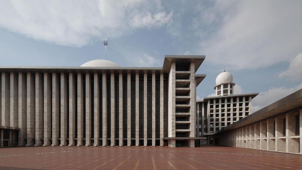 Karya-karya Arsitek Fenomenal Masjid Istiqlal Dipajang Mulai 7 November