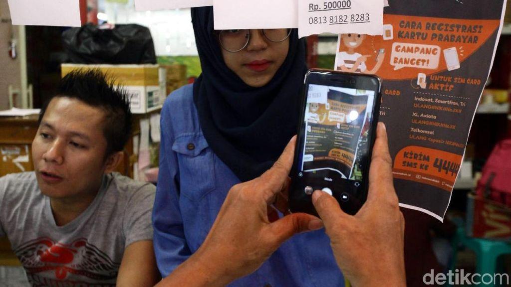 Menkominfo Blak blakan Soal Kendala Registrasi SIM Card
