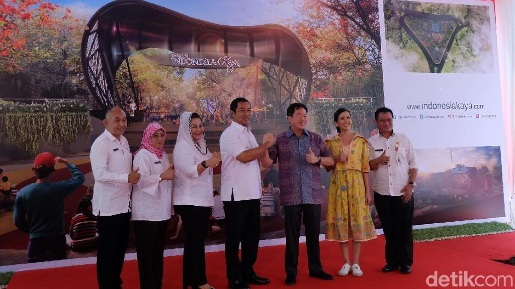 Berkonsep Futuristik, Taman Indonesia Kaya akan Diresmikan 2 Mei 2018