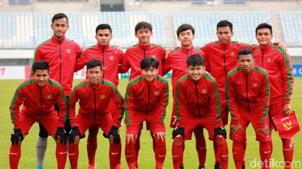 Siang Ini Timnas Indonesia U-19 Hadapi Korsel