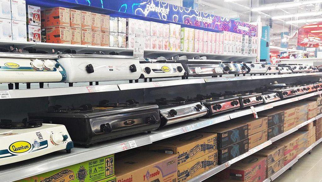 Promo Kompor Gas Dua Tungku di Transmart Carrefour