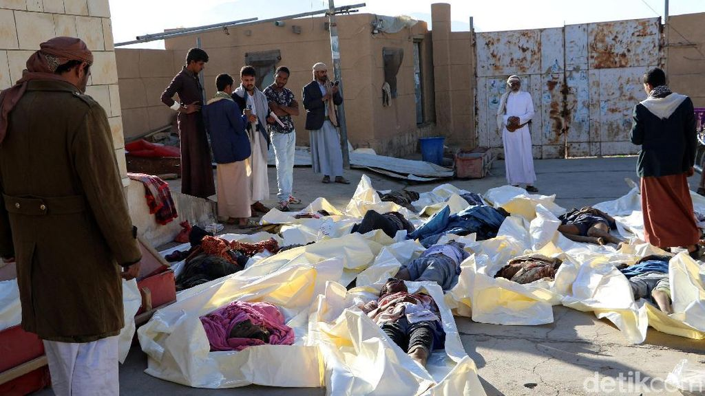 26 Warga Yaman Tewas Akibat Serangan Udara Arab Saudi