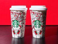 Ini Nih Desain <i>Holiday Cups</i> Starbucks Terbaru yang Bisa Diwarnai