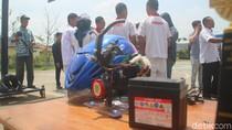 Siswa SMK Brebes Ciptakan Helm Pintar Terhubung dengan Mesin Motor