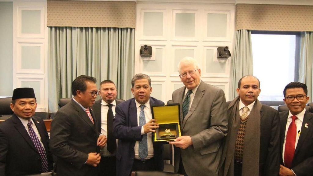Fahri Hamzah Pimpin Kunker DPR ke AS