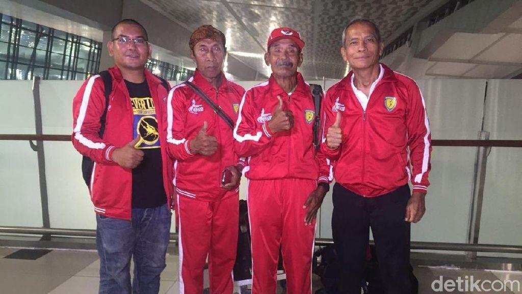 Ikut Kejuaraan Lari, Kakek Darmiyanto Terbang ke Chile Malam Ini
