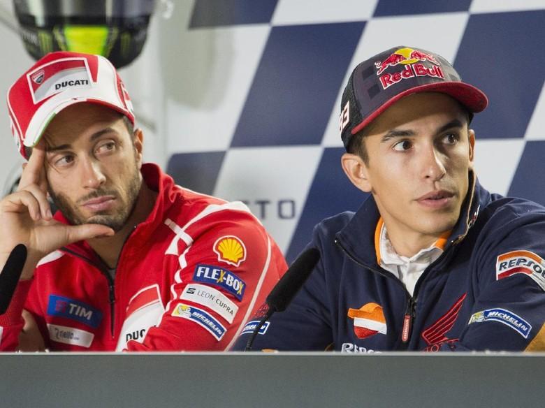 Membandingkan Hasil Marquez dan Dovizioso di Valencia