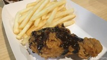 Ramai di Medsos, Begini Tampilan dan Rasa Ayam Goreng Saus Cokelat