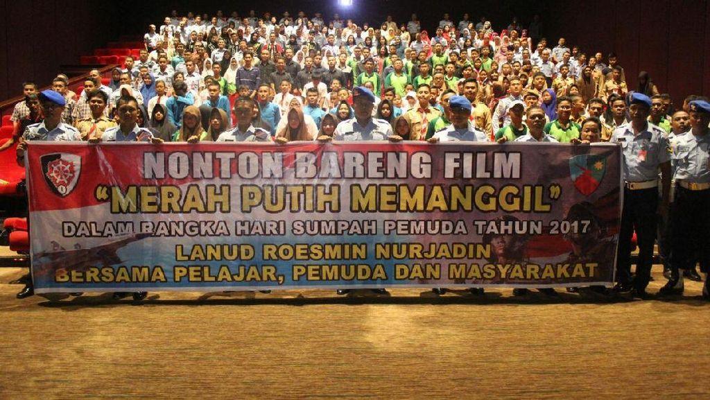 TNI AU Ajak Pemuda Nobar Film Merah Putih Memanggil