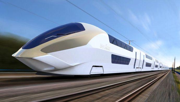 Mengintip Kereta Cepat Bertingkat Pertama di Dunia