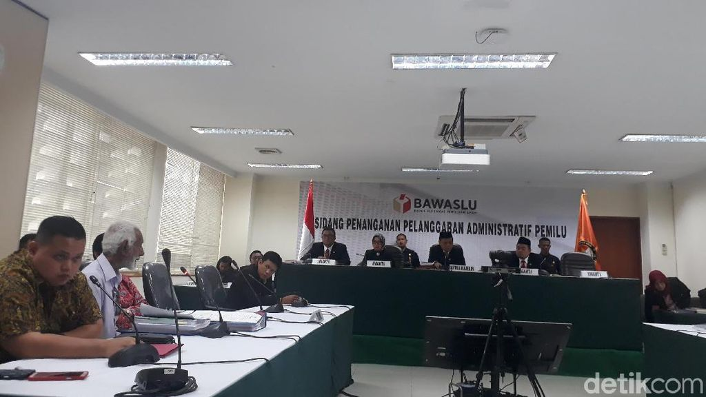 Sidang Aduan KPU, Partai Indonesia Kerja Cabut Laporan