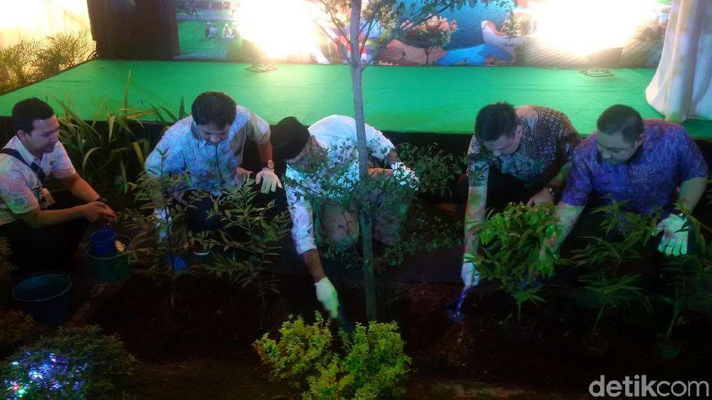 Taman Asia Afrika di Jalan Ibrahim Adjie Bandung Mulai Dibangun